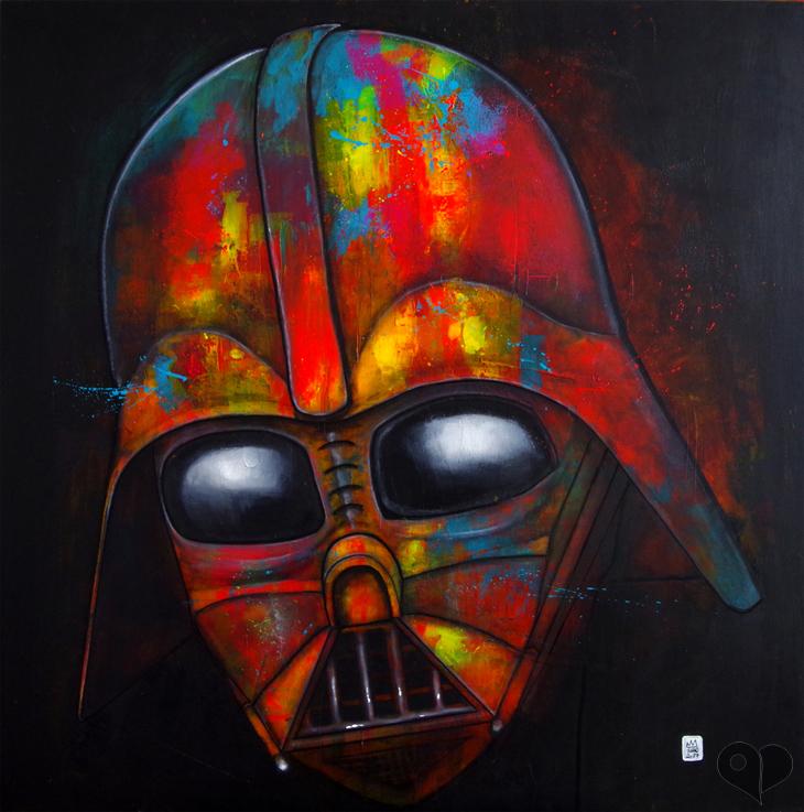 Art Lover Place Achetez Loeuvre Dark Vador Darth Vader