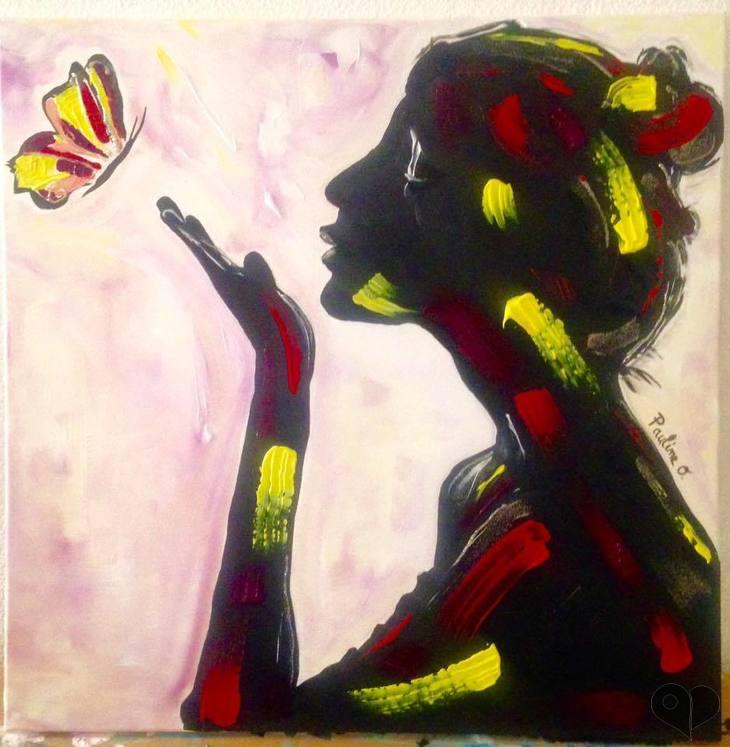 Art Lover Place L Oeuvre Vole Vole Liberte Peinture Par Pauline Oliveira Art Intuitif