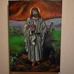 50052dccac6b Peinture - joky kamo. tableau peinture jesus christ